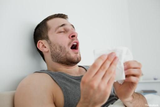 niesen bij hooikoorts